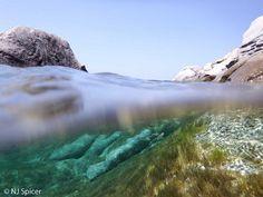 Aegean underwater - Naxos, Greece