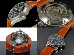 Aeromatic 1912 Retro A1143 Automatic horloge (goedkoopste + gratis verzending)