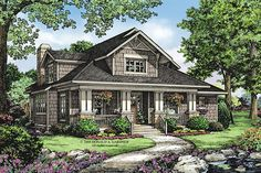 House Plan 929-38 1997sq ft total, 1437 main floor, master and laundry on main, large screened porch