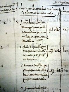 Archivo Histórico Provincial de Granada, España Libro de  población 6405. AHPGr. 1570