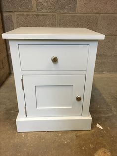 Lovely Bedside Painted In Fu0026B Skylight. Cobwebs Furniture Company.