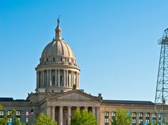 Oklahoma State Capitol, built 1917, USA