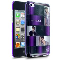 Celebrity iPhone Cases - Cellairis by Justin Bieber Just Believe Tile Case for Apple iPod Touch 4 - www.cellairis.com