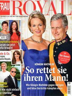 2015: König Philippe und Königin Mathilde von Belgien