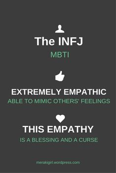 The third post in my series on being an INFJ. Let me know if you strongly agree or disagree with the statements made here.