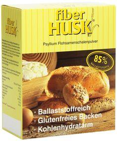 Flohsamenschalen fiber Husk gemahlen Pulver, 1er Pack (1 x 300 g)
