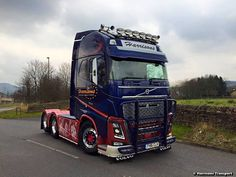 Harrisons Transport UK-Volvo FH16