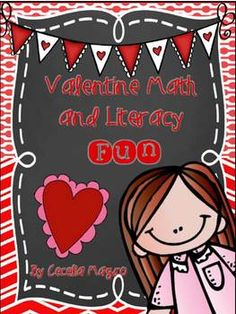 This awesome unit includes a ton of activities to keep you busy all week {or more} It contains:suggested books to read, two original guided or shared reading books, story problems, conversation heart sort and graph, letter writing, valentines, inference page, songs, candy heart estimation, 2 parent letters, valentine mailbox directions, card, 8 math games and more.