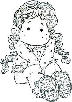 Gorjuss Santoro Stamps clipart and coloring pages - Google Search