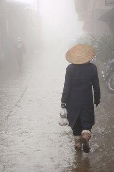 Rainy Day in Sapa, Vietnam by Andi Mezger Vietnam Tours, Vietnam Travel, Asia Travel, Laos, Photo Zen, Buddhist Pagoda, Timor Oriental, Beautiful Vietnam, Philippines
