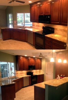 Kitchen remodeling increases the value of houses. Whethere it are some good examples of small kitchen remodeling or open layouts we have done them.   Click on image to view more.