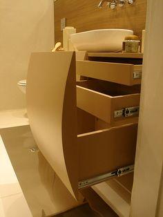 banheiro armário UNA IDEA MÓVEIS