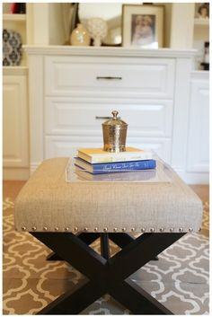 How To: Make An X-leg Ottoman