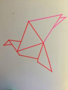 oiseau-origami-déco-washitape
