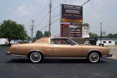 """1974 Ford LTD 2 Door hardtop with 63,000 original miles in """"Medium Goldenrod """" metallic."""