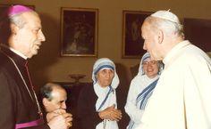 Sts. Pope John Paul & Mother Teresa of Calcutta with Bl. Alvaro del Portillo