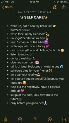 Beauty Tips For Glowing Skin, Clear Skin Tips, Health And Beauty Tips, Beauty Routine Checklist, Beauty Routines, Stress Meditation, School Routine For Teens, Self Care Bullet Journal, The Glow Up