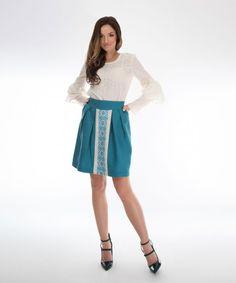 fusta cu model traditional Waist Skirt, High Waisted Skirt, Ethical Fashion Brands, Casual, Skirts, Atelier, High Waist Skirt, Skirt