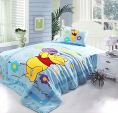 Winnie the Pooh Bedroom | pooh bedding twin light blue winnie the pooh bedding twin