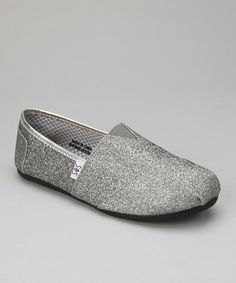 Dark Gray Glitter Slip-On Shoe by Shoes of Soul on #zulily