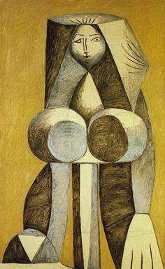 Pablo Picasso Femme debout, 1946