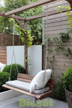 Balcony Garden 93953 Best backyard patio hacks to create the best space, # best . - Balcony Garden 93953 Best backyard patio hacks to create the best space, # best # best # hacks # ba - Pergola Patio, Backyard Patio, Backyard Landscaping, Pergola Kits, Modern Pergola, Pergola Swing, Landscaping Ideas, Small Pergola, Pergola Plans