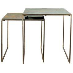 Arto Satsbord set - Metall - 1695kr - Trendrum.se
