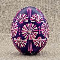 Pysanka from Ukraine (Chocolate Decorados Easter Eggs) Cool Easter Eggs, Ukrainian Easter Eggs, Easter Art, Easter Crafts, Easter Bunny, Eastern Eggs, Polish Easter, Egg Tree, Egg Designs