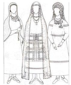 Степанова ю в древнерусский костюм