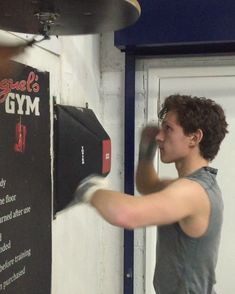 Back in the boxing gym