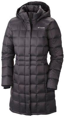 Columbia Women's Hexbreaker™ Long Down Jacket (Water resistant)