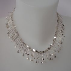 Chaos wire necklace | Contemporary Necklaces / Pendants by contemporary jewellery designer Fiona DeMarco