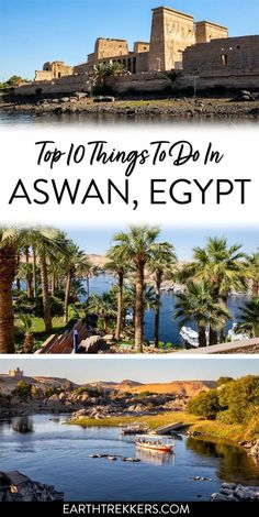 10 best things to do in Aswan, Egypt, including day trips to Abu Simbel and Kom Ombo. #egypt #aswan #abusimbel