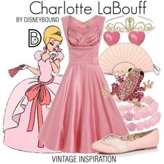 Charlotte La Bouff by leslieakay on Polyvore featuring RED Valentino, Miss Selfridge, Palm Beach Jewelry, Monsoon, vintage, disney and disneybound