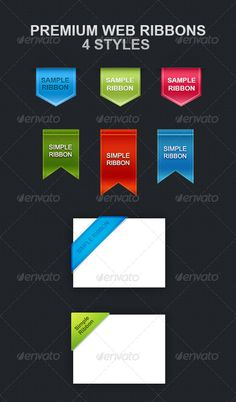 Premium Web Ribbons | Buy and Download: http://graphicriver.net/item/premium-web-ribbons/6469904?WT.ac=category_thumb&WT.z_author=themescrowd&ref=ksioks