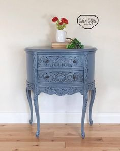 Stillwater Blue Accent Table | General Finishes Design Center