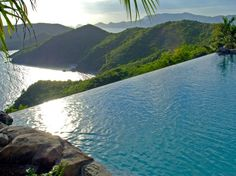 The Falcon's Nest Villa Pool at the Peter Island Resort and Spa