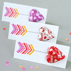 Craft up some quick and easy (and cute) Valentines using this free printable.