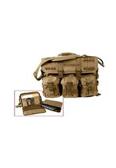 New Rothco Molle Tactical Laptop Bag/Briefcase Strap & Handle online - Lookchicfashion Tactical Pouches, Molle Pouches, Tactical Bag, Tactical Packs, Best Laptop Backpack, Laptop Briefcase, Laptop Bag, Computer Sleeve, Computer Bags