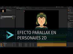 Tutorial: Efecto parallax en personajes 2D en After Effects - YouTube
