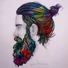 #beard #illustration
