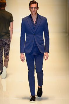 2 button - Gucci SS14 via style.com couttsconsultancy.com keeping an eye on the latest trend