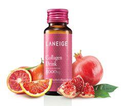 Besides fish collagen, LANEIGE Collagen drink contains vitamin C to help stimulate collagen synthesis and brighten skin.