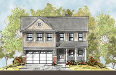 Traditional   House Plan 67855
