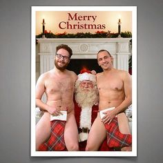 James Franco and Seth Rogen unveiled their Christmas card on Saturday Night Live.