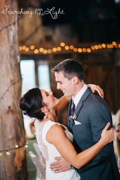 First dance Evergreen Barn wedding