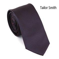 Tailor Smith Polka Dot Tie 100% Microfiber Jacquard Skinny Tie Business Wedding Dress Slim Tie Men Formal Neckwear Accessories