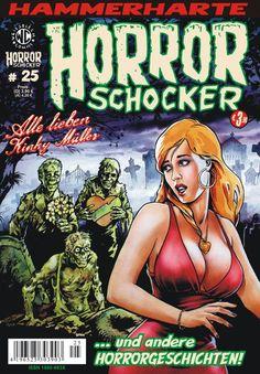 Cover for Horrorschocker (Weissblech Comics, 2004 series) #25 APRIL 2011