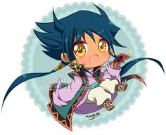 Aigami chibi - Yu-Gi-Oh DSOD by MadelineCG on DeviantArt