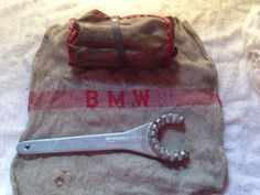 Bmw R90 Airhead Tool kit + Shop Towel + Exhaust Nut Wrench (No Reserve)